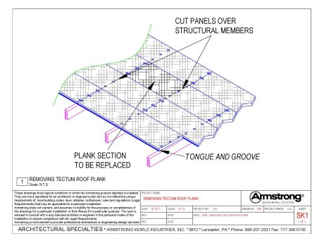 TECTUM E & TECTUM E-N Drawing Files | Armstrong Building Solutions